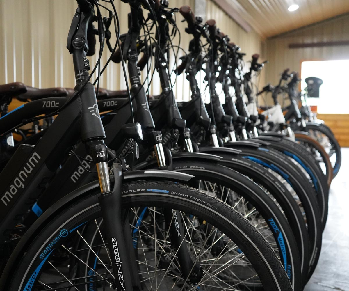 E-Bikes Location, Holmesville Ohio