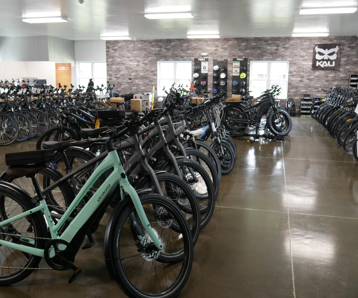 E-bikes Location, Mt Hope Ohio